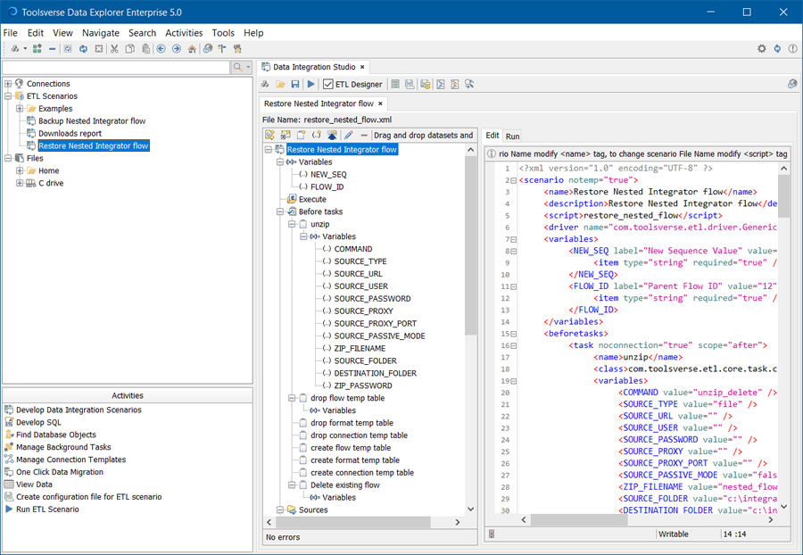 Data Explorer | Toolsverse: Custom Data Integration