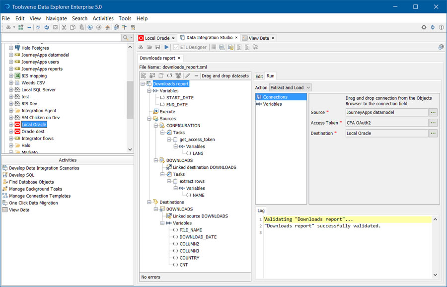 Toolsverse | Data Explorer